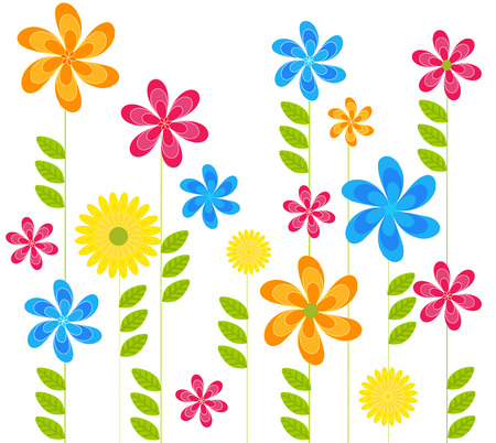 spring flowers Stock Vector - 8582851