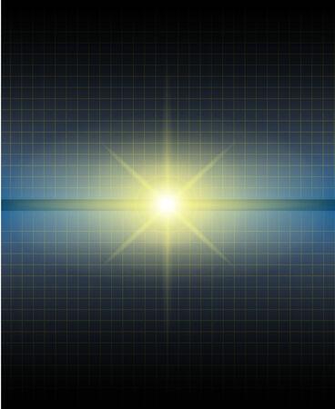 abstract background, dark blue gradient Stock Vector - 8643132