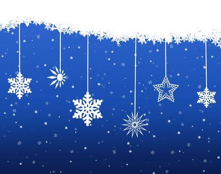 Beautiful background Christmas (New Year) card . Stock Photo