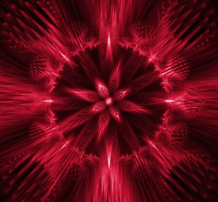 2d wallpaper: abstract background. red palette. Stock Photo