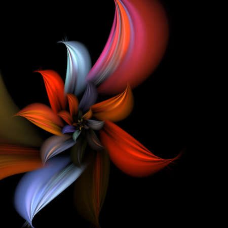 abstract fractal flower photo