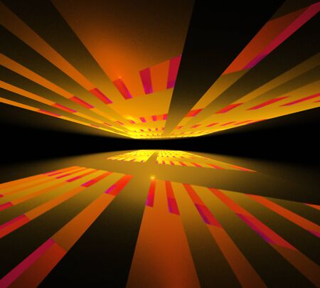 elegant abstract fractal background Stock Photo - 12450331