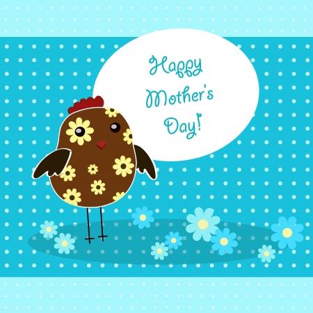 day care: madre felice Vettoriali