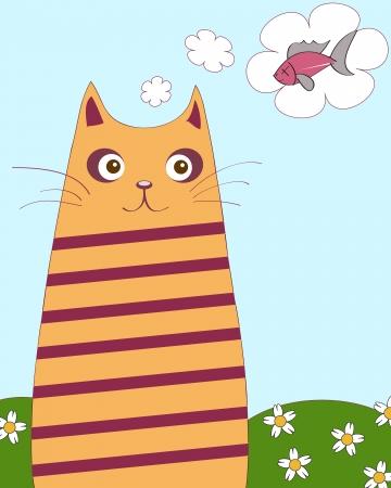 chubby cat Stock Vector - 13690866