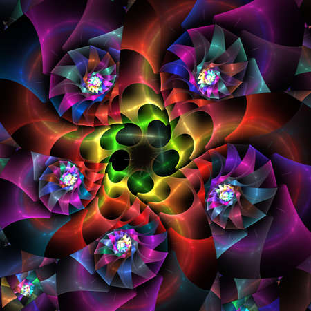 abstract fractal background  for art projects Stock Photo - 14752962