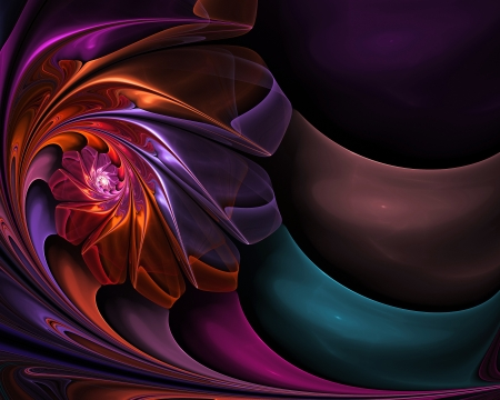abstract fractal background  for art projects photo