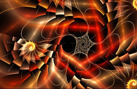 abstract fractal background Stock Photo - 15827007