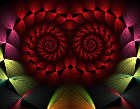 abstract fractal background Stock Photo - 15840915