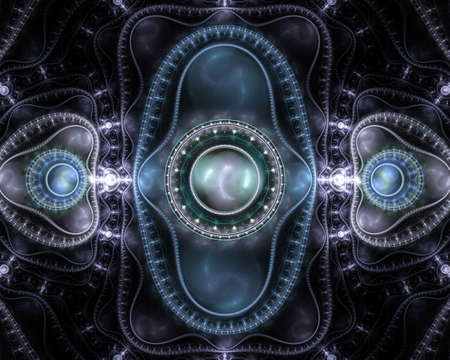 abstract fractal background  for art projects Stock Photo - 17731150