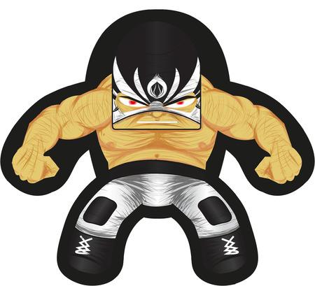 hombre: Fighter Illustration