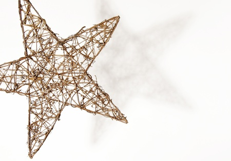 star isolated christmas Stock Photo