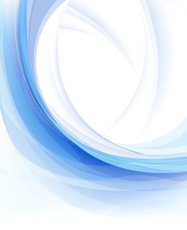gloss banner: abstract blue clean background