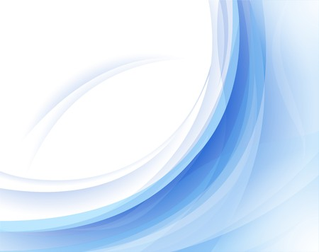 Fresh wave horizontal abstract background