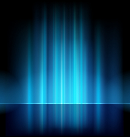 the aurora: abstract lights background