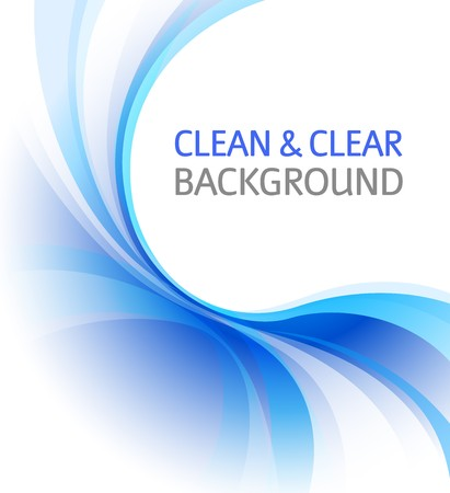 clean and clear business background