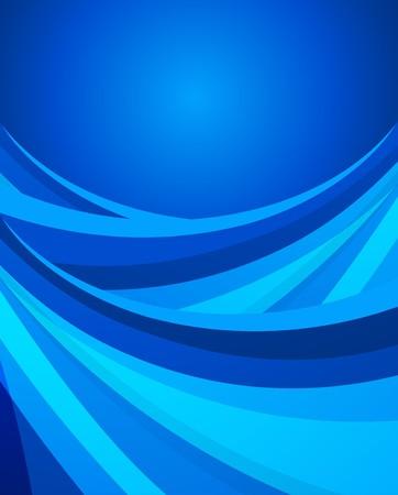 blue wavy background photo