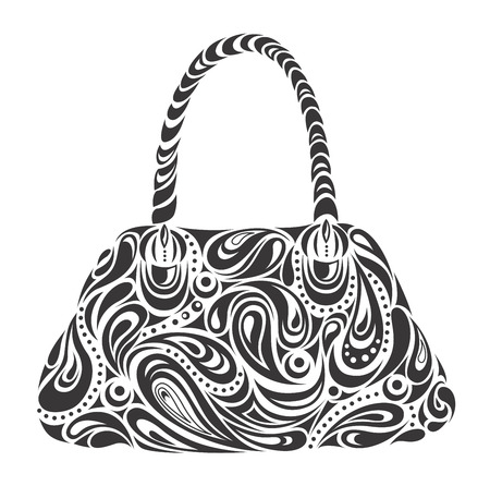 womans handbag Vector