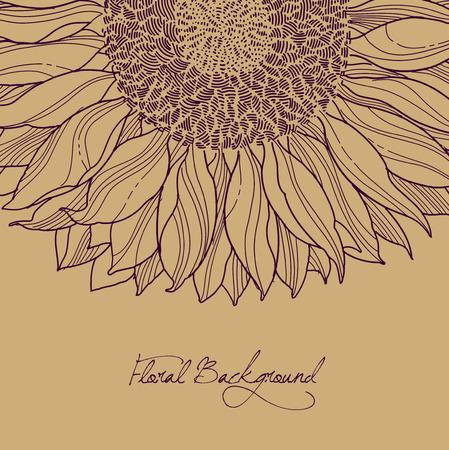 lineas verticales: oto�o fondo marr�n floral