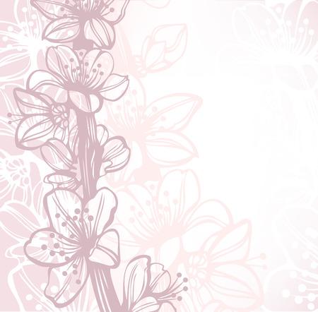 almonds: wedding card background