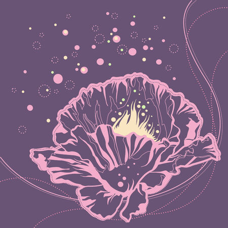 pink flower Stock Vector - 7860207