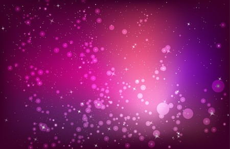 northern light: abstract red purple pink background