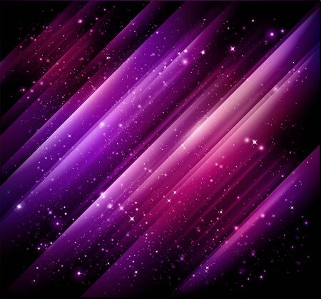 abstract lights purple background Stock Photo - 7991886