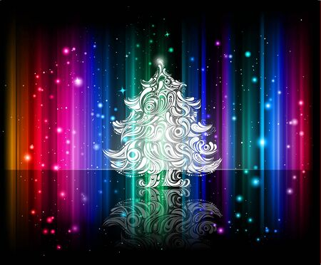 christmas night background photo