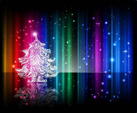 beautiful christmas background Stock Photo - 8225371