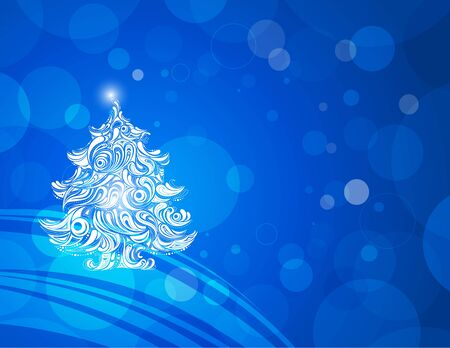 abstract christmas wallpaper shiny background Stock Photo - 8405988