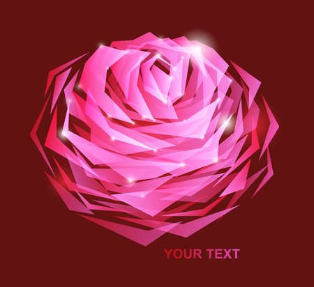 beutiful rose background Stock Photo - 9082004