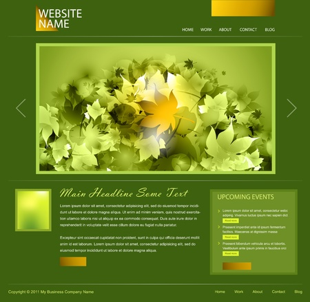 green website design photo