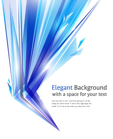 Abstracte blauwe en witte achtergrond Stockfoto - 9082040