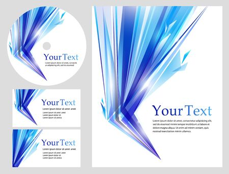 Stylish business backgrounds and cards - templates collection photo