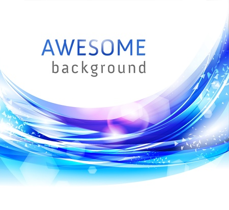 stylish abstract background Stock Photo - 9082030
