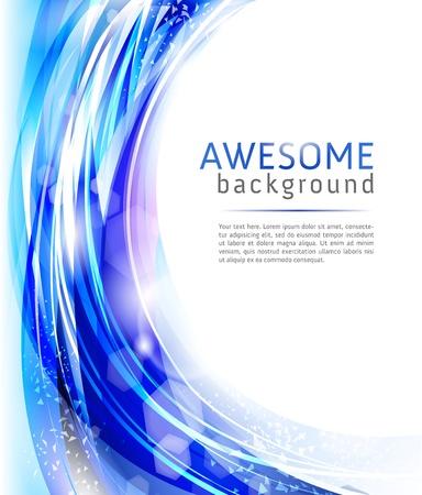 Blauwe achtergrond Stockfoto - 9082039