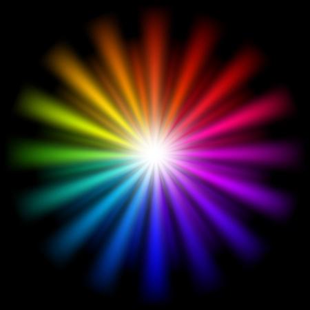 colori:  sfondo colorato Vettoriali