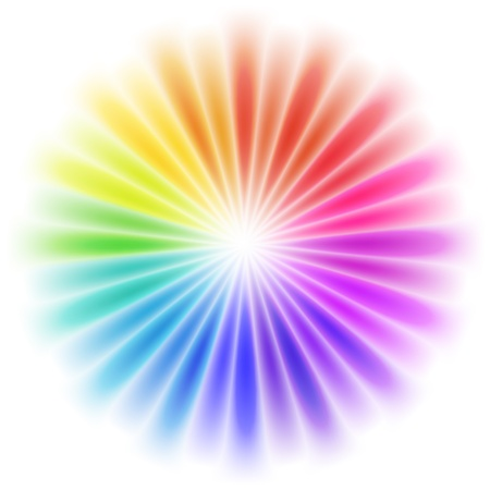 rainbow circle: Abstract colorful design
