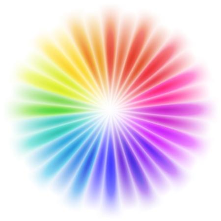 aura: Abstrakt colorful entwerfen