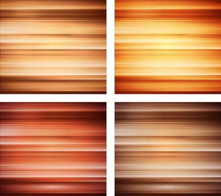 houtstructuur achtergrond collectie - vector is beschikbaar Stock Illustratie