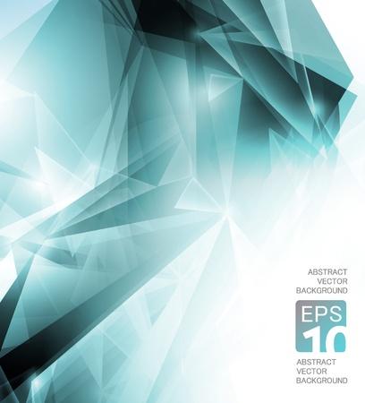 poligonos: Fondo de alta tecnolog�a abstracto