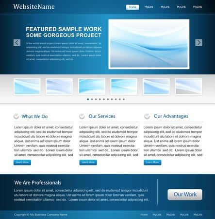 Business website - groot voor het, softwarebedrijf