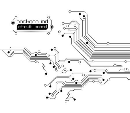 printed circuit board: abstrait texture de fond du circuit du conseil