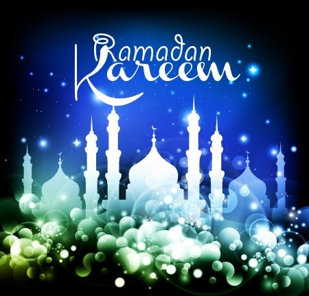 Abstraite religieuse Eid fond - illustration vectorielle Banque d'images - 14176234
