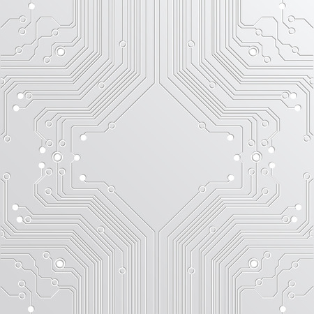 printed circuit board: abstract background high tech