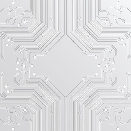 technologia: abstrakcyjne tło high tech Ilustracja