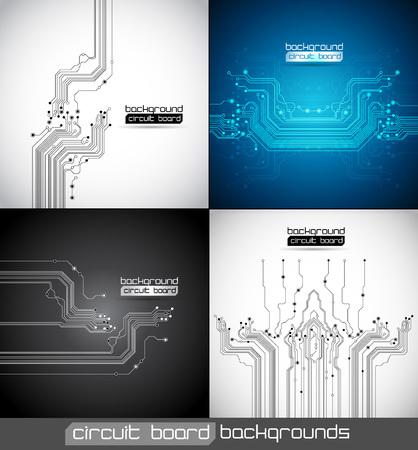 circuito integrado: circuito extracto fondos textura