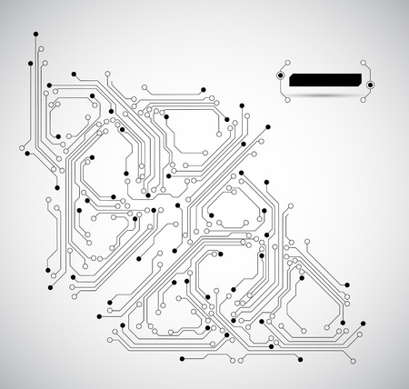 board: abstract circuit board background