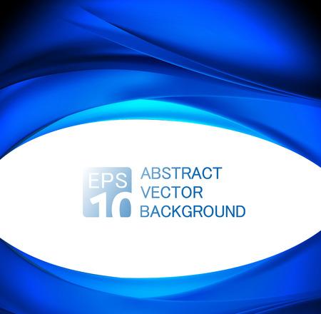 abstrakt blau Wave Hintergrund