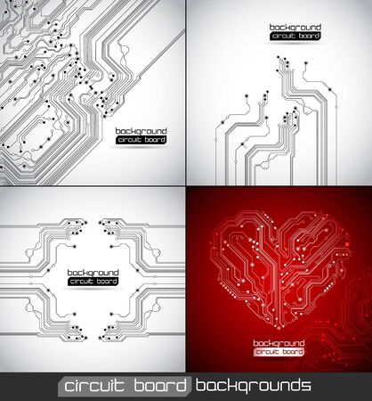 black board: abstract circuit board backgrounds texture