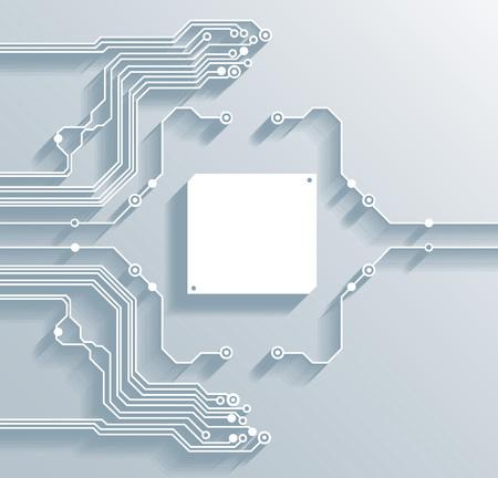 3D-Platine Hintergrund Textur - Vektor